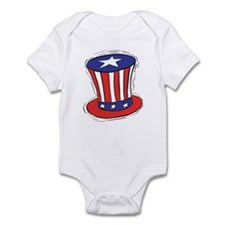 American Top Hat Infant Bodysuit