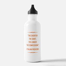 THE SHORTER THE... Water Bottle