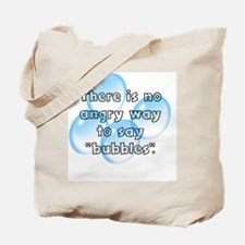 Funny Bubbles Tote Bag