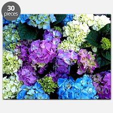 Colorful Hydrangea Bush Puzzle