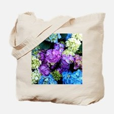Colorful Hydrangea Bush Tote Bag