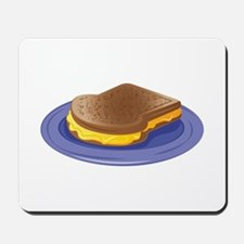 Melted Cheese Sandwich Mousepad