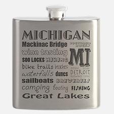 Cute Mackinac Flask