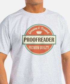 proofreader vintage logo T-Shirt