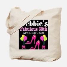 SUPER 60TH Tote Bag