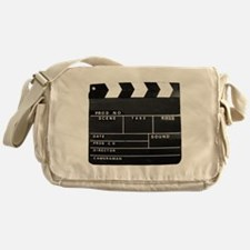 Clapperboard for movie making Messenger Bag