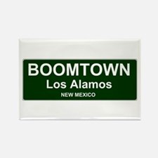 US CITIES - BOOMTOWN! - LOS ALAMOS - NEW M Magnets