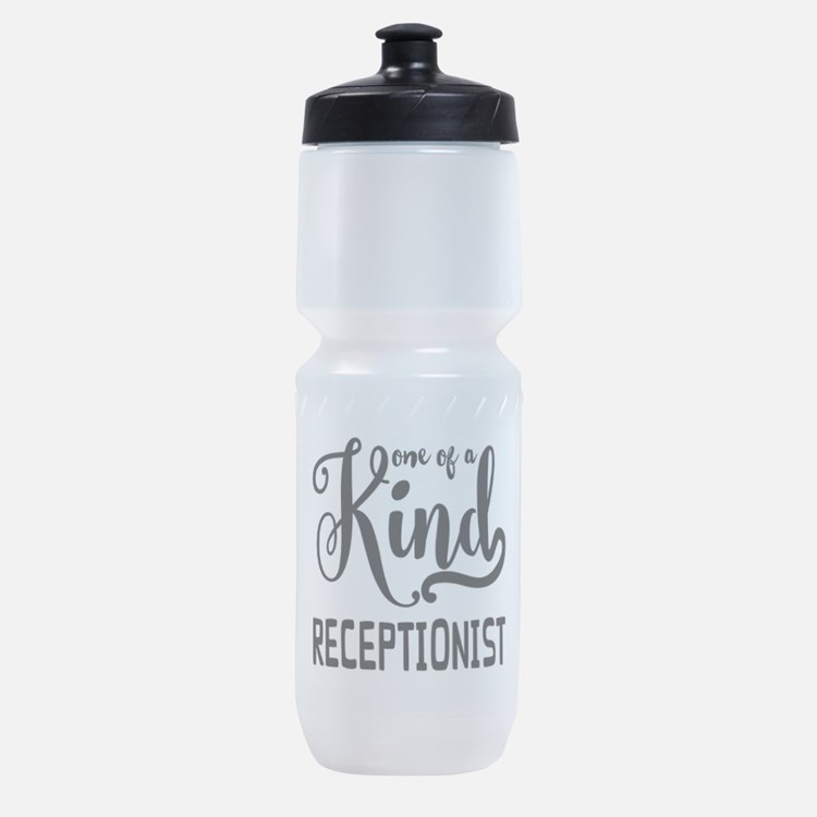 One of a Kind Receptionist Sports Bottle