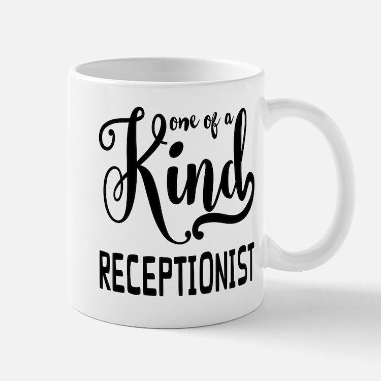 One of a Kind Receptionist Mug