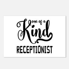 One of a Kind Receptionis Postcards (Package of 8)