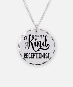 One of a Kind Receptionist Necklace