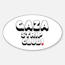 GAZA STRIP CLUB! Decal