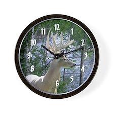 Rapid River Buck Wall Clock