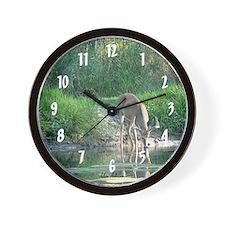 Buck Reflection Wall Clock