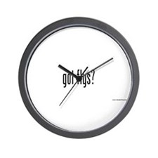 got flys? Wall Clock