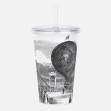 circus art Acrylic Double-wall Tumbler