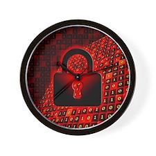 Secure data Wall Clock
