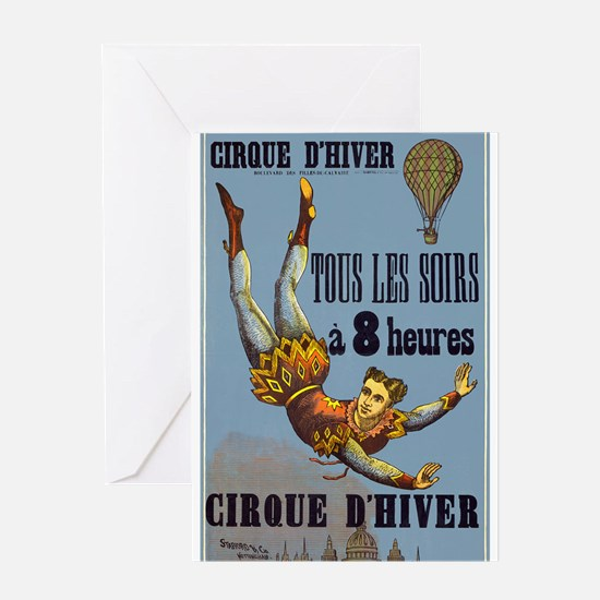 circus art Greeting Cards