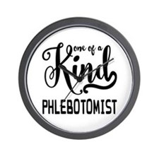 One of a Kind Phlebotomist Wall Clock