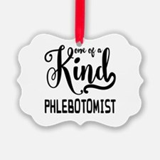 One of a Kind Phlebotomist Ornament