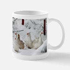"""""""Snow"""" Geese Mug"""