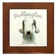 Bedlington Mom2 Framed Tile