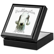 Bedlington Mom2 Keepsake Box