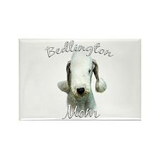Bedlington Mom2 Rectangle Magnet