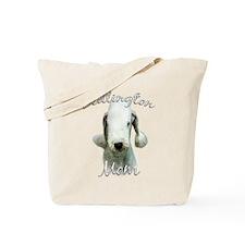 Bedlington Mom2 Tote Bag