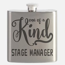 One of a Kind Stage Manager Flask