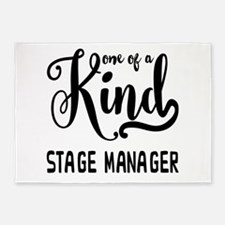 One of a Kind Stage Manager 5'x7'Area Rug