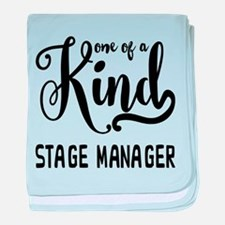 One of a Kind Stage Manager baby blanket
