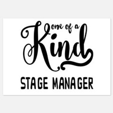 One of a Kind Stage Manager Invitations