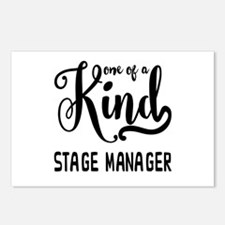 One of a Kind Stage Manag Postcards (Package of 8)