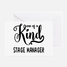 One of a Kind Stage Manager Greeting Card
