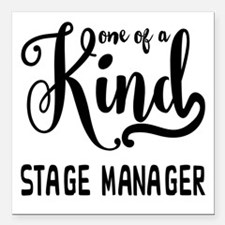 """One of a Kind Stage Mana Square Car Magnet 3"""" x 3"""""""