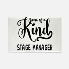 One of a Kind Stage Manager Rectangle Magnet