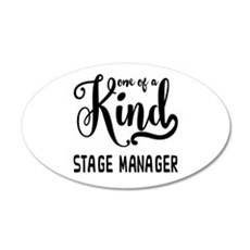 One of a Kind Stage Manager Wall Decal