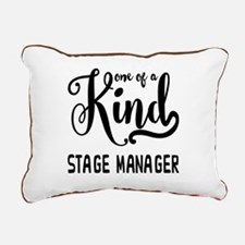 One of a Kind Stage Mana Rectangular Canvas Pillow