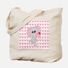 Cool Baby elephant Tote Bag