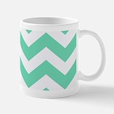 Mint Green Zigzags Mugs