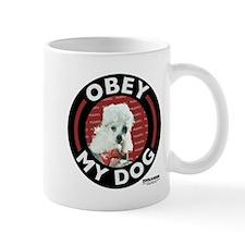Obey My Dog Small Small Mug