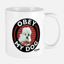 Obey My Dog Small Small Mug