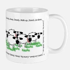 Tri-color border collie Mugs