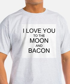 VALENTINE - I LOVE YOU TO THE MOON AND BAC T-Shirt