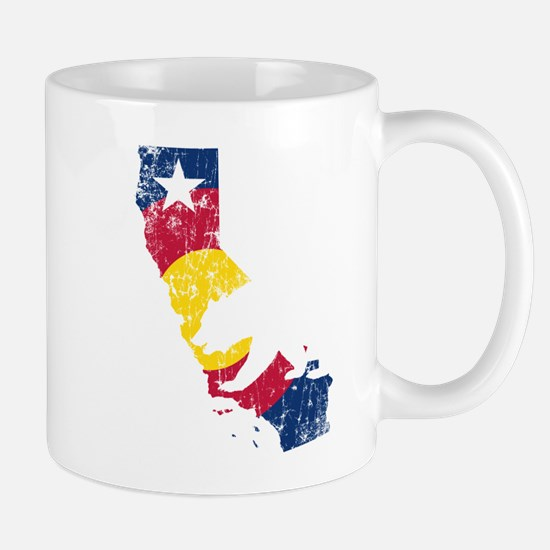 California State Colorado Flag Mugs