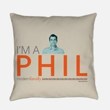 Modern Family Pillows : Phil Dunphy Pillows, Phil Dunphy Throw Pillows & Decorative Couch Pillows