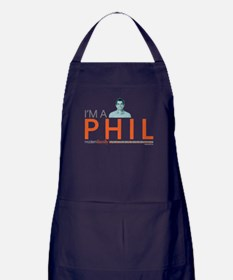 Modern Family I'm a Phil Apron (dark)