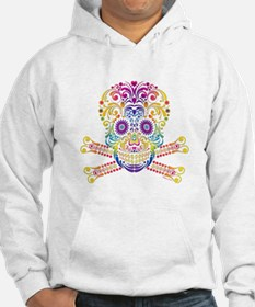 Decorative Candy Skull Hoodie