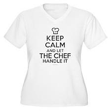 Keep Calm Chef Plus Size T-Shirt